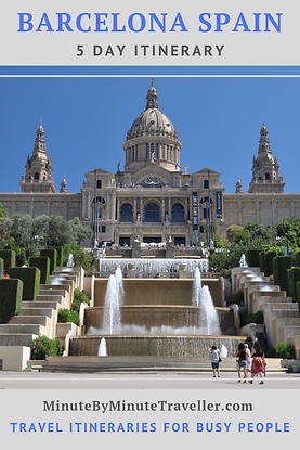 Barcelona itineary | Where to go | What to do in Barcelona