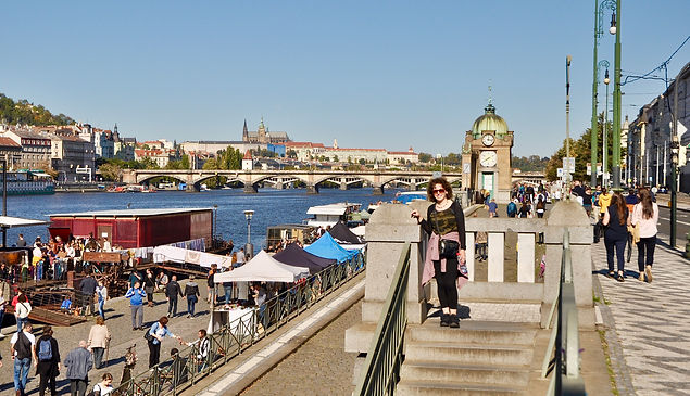 Prague River Side - Prague itinerary