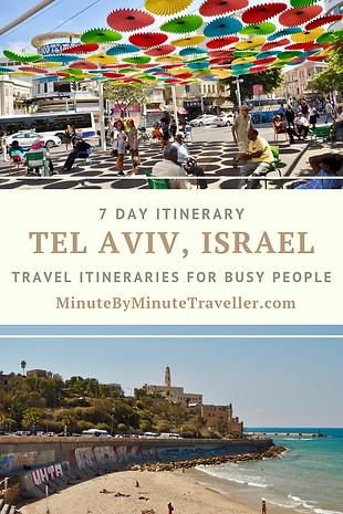 Tel Aviv itinerary in 7 days, Where to go in Tel Aviv