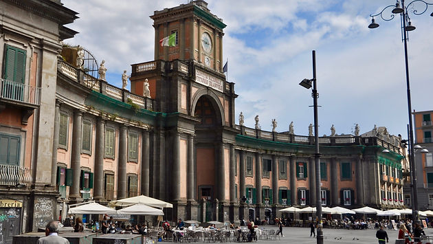 Where to go in Naples - Piazza Dante