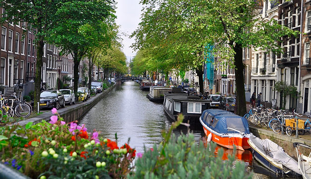 Jordaan District Canals Amsterdam