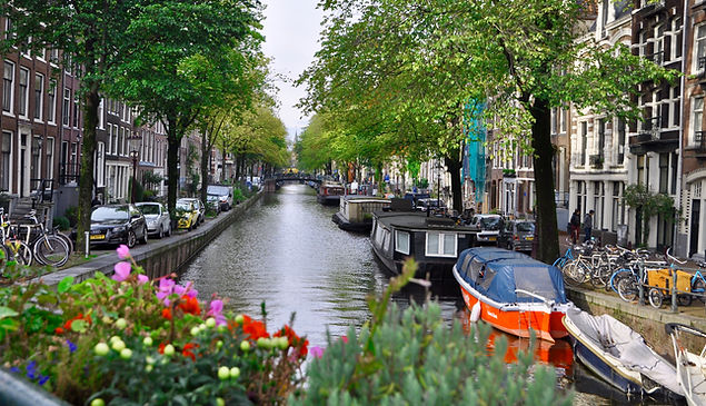 Jordaan District Canals Amsterdam