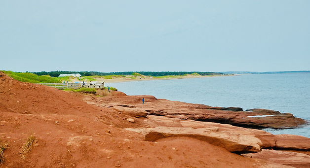 Where to go in PEI - Cavendish red sand beaches Prince Edward Island
