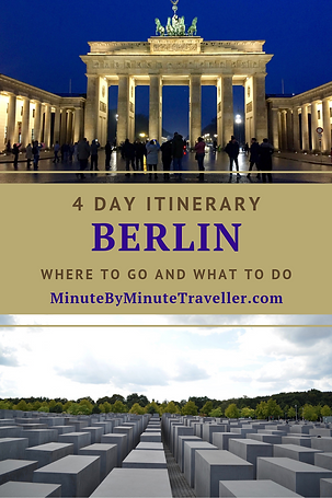 Berlin itinerary in 4 days | Where to go in Berlin