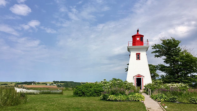 where to go in PEI - lighthouse
