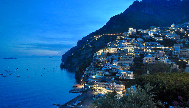 Where to go in Positano - night views