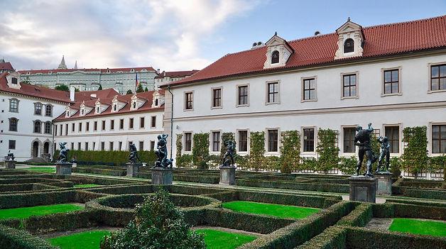 Prague Senate Gardens - Prague itineary