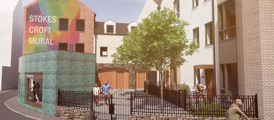 96-102 Stokes Croft development in for planning.