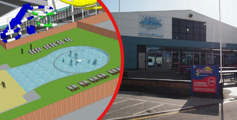 Brean Leisure Park extension in Somerset Live.
