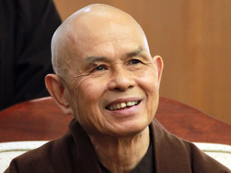 """Thich Nhat Hanh,  appelé aussi  """" Thay """""""