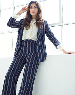 Iraina Mancini suit by photographer- Damien Fry
