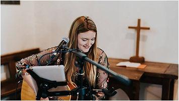 Wedding Acoustic Lauraspaperheart singer guitarist church hertfordshire