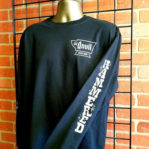 Men's Long Sleeve 'Hammered' Shirt