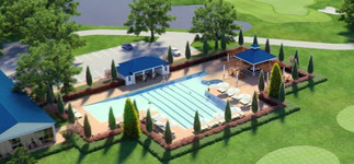 Morehead City Country Club Pool and Bar