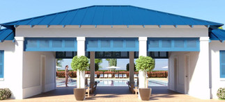 Morehead City Country Club Pool House Entry