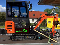 Minibagger mieten  Oberhavel. Hitachi, Bagger mieten, Hennigsdorf, Velten, Brandenburg