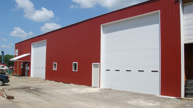 Commerical Garage Door Panel Doors