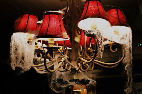 Light with Cobwebs