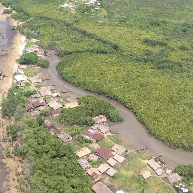 Okposo looking towards the Eastern Coast