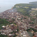 Ibaka looking towards the East
