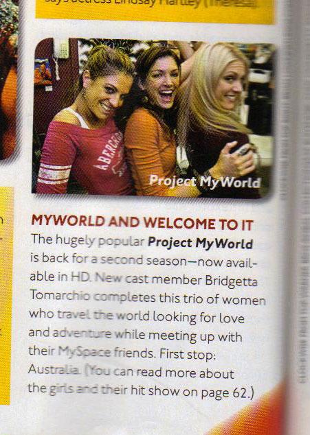 Project My World