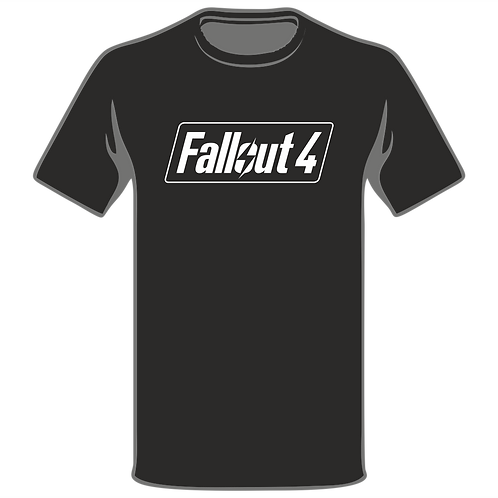 Fallout T-Shirt, Video Game T-Shirt, Gamer T-Shirt, Xbox T-Shirt, Playstation T-Shirt, Arcade T-Shirt