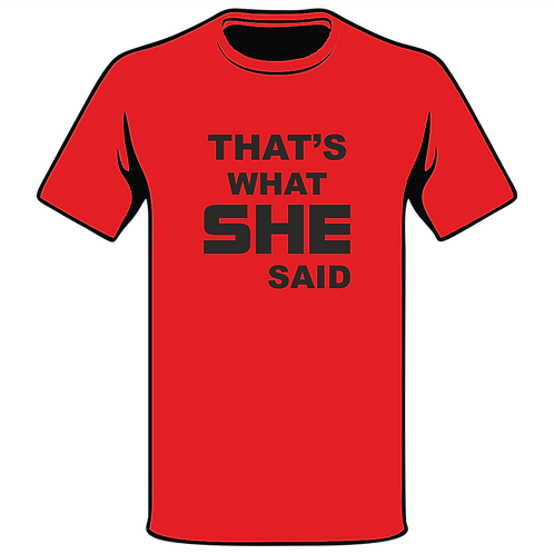 Design Ink Joke T-Shirt Design 190