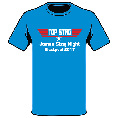 Design Ink Stag Do-Shirt Design 24