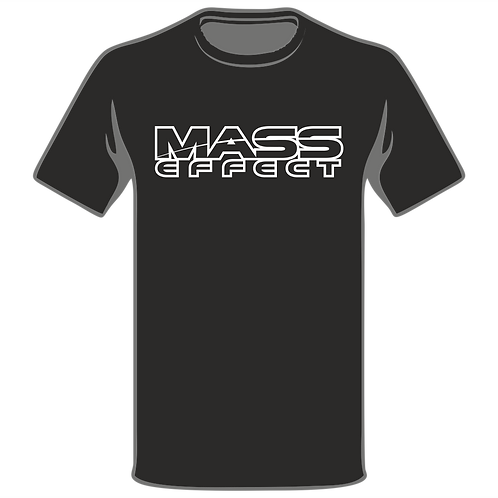 Mass Effect T-Shirt, Video Game T-Shirt, Gamer T-Shirt, Xbox T-Shirt, Playstation T-Shirt, Arcade T-Shirt