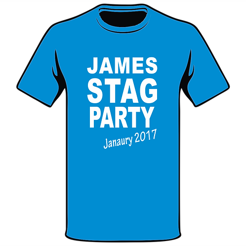 Design Ink Stag Do-Shirt Design 19