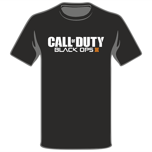 Call Of Duty Black Ops T-Shirt, Video Game T-Shirt, Gamer T-Shirt, Xbox T-Shirt, Playstation T-Shirt, Arcade T-Shirt
