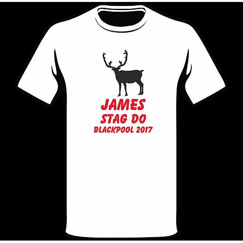 Design Ink Stag Do-Shirt Design 6