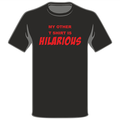 Design Ink Joke T-Shirt Design 199