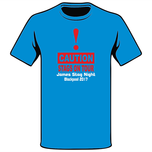 Design Ink Stag Do-Shirt Design 2