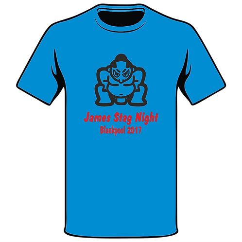 Design Ink Stag Do-Shirt Design 11