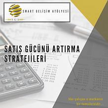 SGA - SATIŞ GÜCÜNÜ ARTIRMA STRATEJİLERİ.