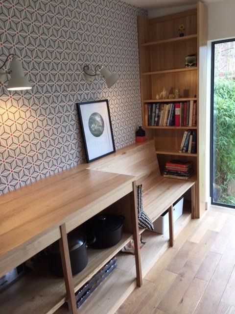 Kitchen Bench/Storage/Shelving