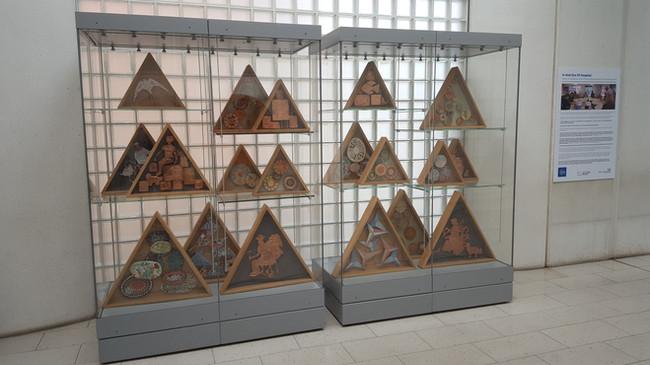 Triangular box-frames
