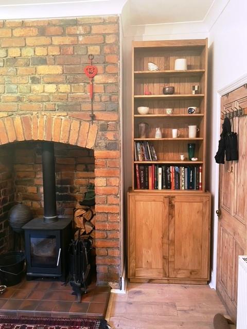 Oak Cabinet / Shelving