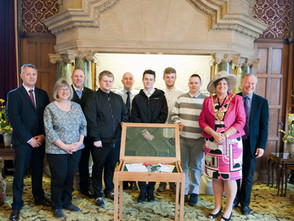 Display Cabinet for Sheffield's Lord Mayor