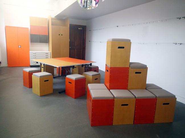 Seating, Tables, Storage & Display