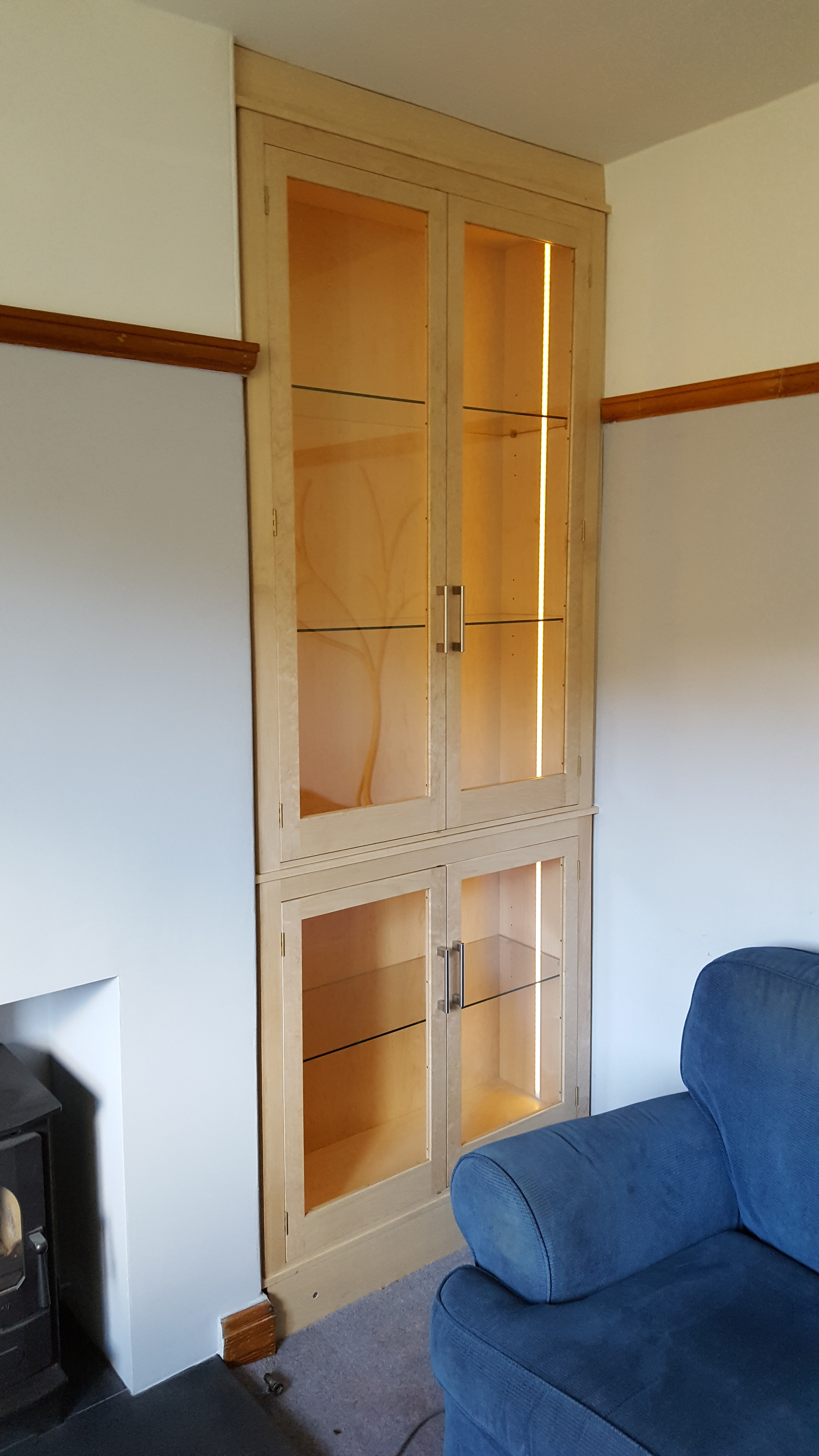 Fitted Display Cabinet