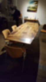 English Walnut Dining Table