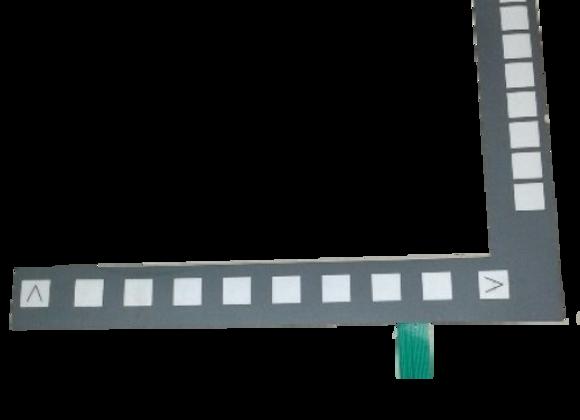 Teclado de Membrana CNC Siemens 802D