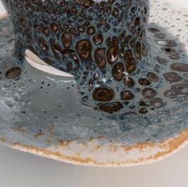 Toledo Blue (detail) 2017 Ceramic Materials