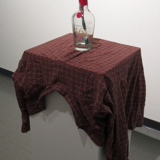 A Pattern Ignored 2018 Shirt, bottle, toothbrush
