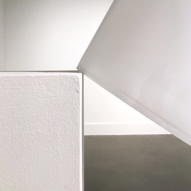 An Unconquerable Instinct (detail) 2017 Pedestal, bucket, duct tape