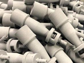 Válvula impressa em 3D salva vida de pacientes com Covid-19 na Itália