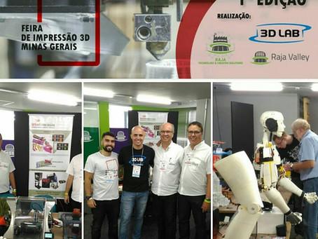1ª Feira de Impressão 3D em Belo Horizonte / MG