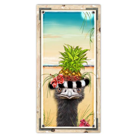 Odd Strich In Pineapple Paradise
